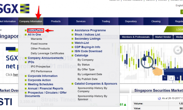 How To Generate Stock Ideas With SGX Stockfacts Screener