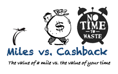 The value of a mile vs. the value of your time #TeamCashback