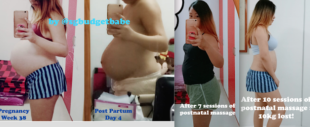 Prenatal and Postnatal Massages : Are they worth it? My review and weight loss with Post Natal Massage Singapore