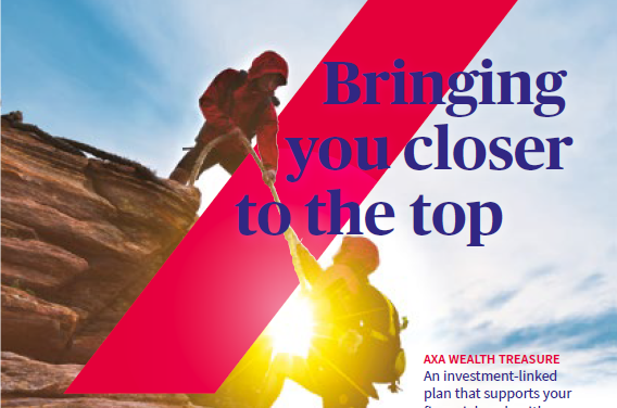 Review of AXA Wealth Treasure – And some thoughts on Investment Linked Policies