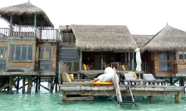Gili Lankanfushi Fire Destroyed 7 Villas, Damaged Kitchen & Restaurant (See Map Inside)