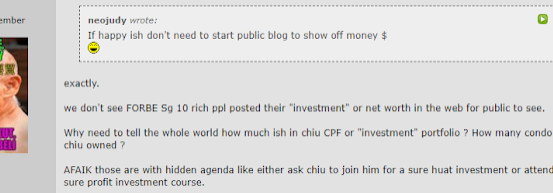 This guy has 800K in his CPF. (AK responds to HWZ Forum.)