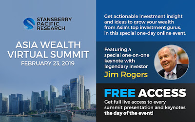 Asia Wealth Virtual Summit 2019 – 23 February 2019