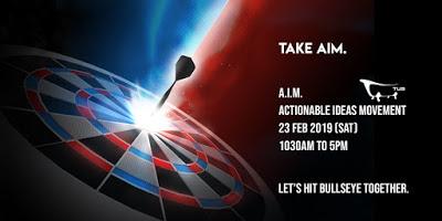 Take A.I.M. – Let's Hit Bullseye Together!