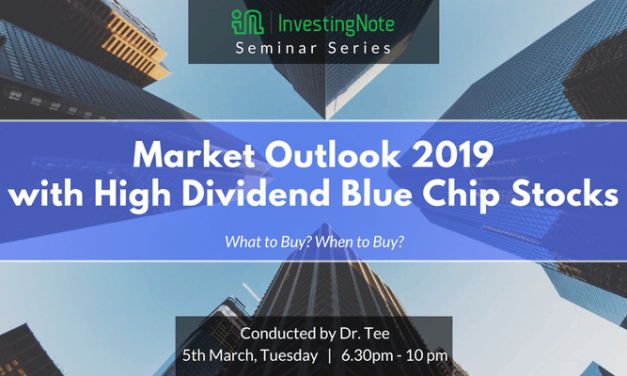 FREE Seminar: Market Outlook 2019 with High Dividend Blue Chip Stocks