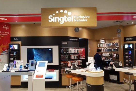Singtel share price in turmoil