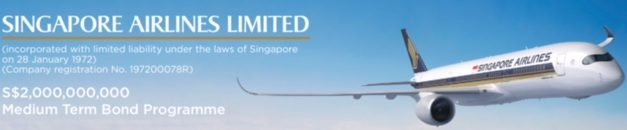 Singapore Airlines – 5Y Retail Bonds 3.03% Mature 28 March 2024