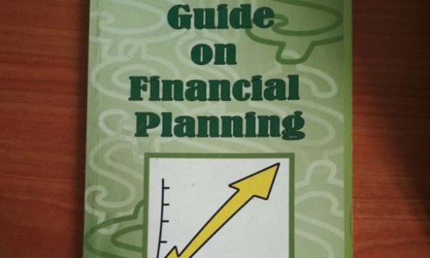 (Post 82/week 66)Learning investing/trading together part 15: Practical Guide On Financial Planning (By Tan Kin Lian)