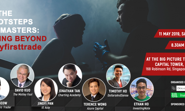 Our Biggest Event in 2019: In The Footsteps Of Masters – Going Beyond #myfirsttrade