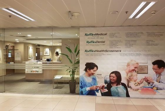 Raffles Medical share price in state of emergency