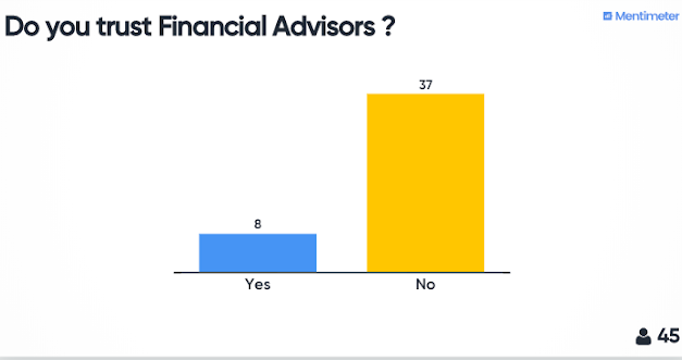 What I learned from observing Financial Advisors