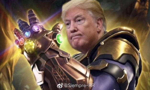 "Market Valuation at a ""Snap of the fingers "" … Thanos Trump"