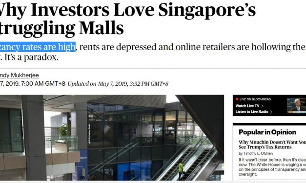 "I Love Singapore's ""Struggling"" Malls"
