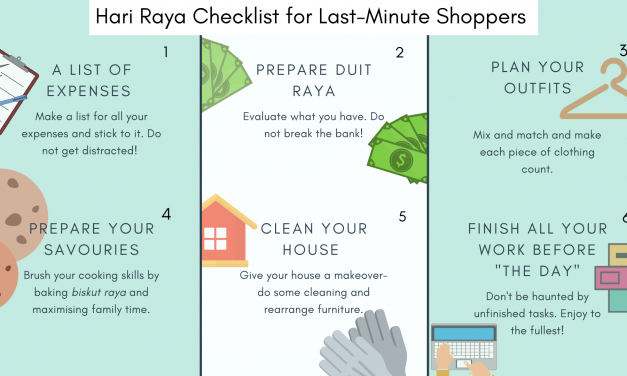 Last Minute Shopping: Hari Raya 2019 Checklist