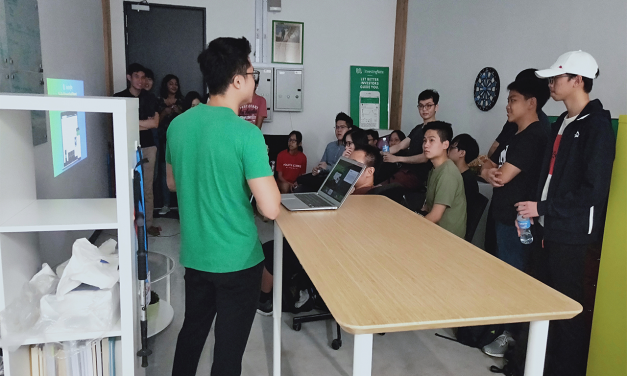 Another Student Visit From NUS, NTU And Local Polytechnics!