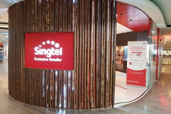 Singtel share price in dark chapter
