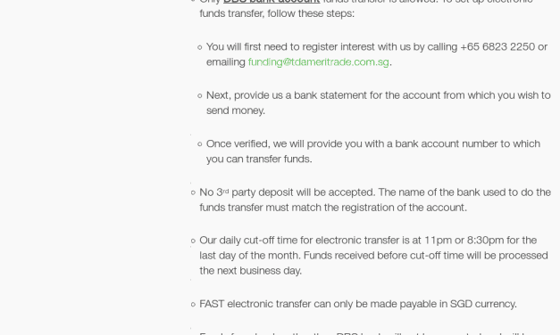 TD Ameritrade now accepts FAST Transfers for funding