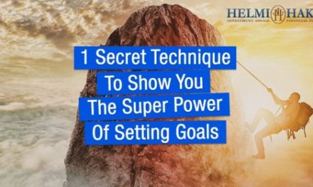1 Secret Technique To Show You The Super Power Of Setting Goals…