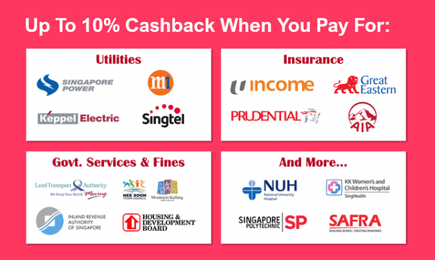 Get up to 10% cashback when paying for your taxes, utilities and insurance bills with this simple trick