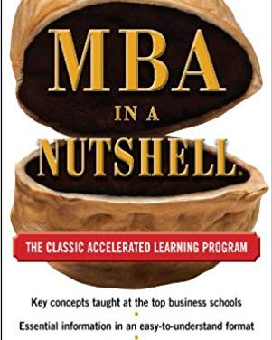 New Column : MBA in a Nutshell