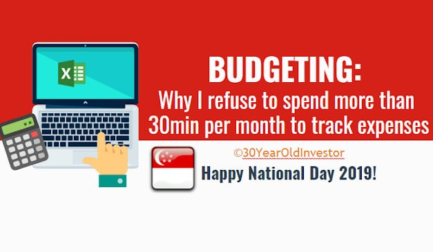 Budgeting: Why I refuse to spend >30min per month to track expenses