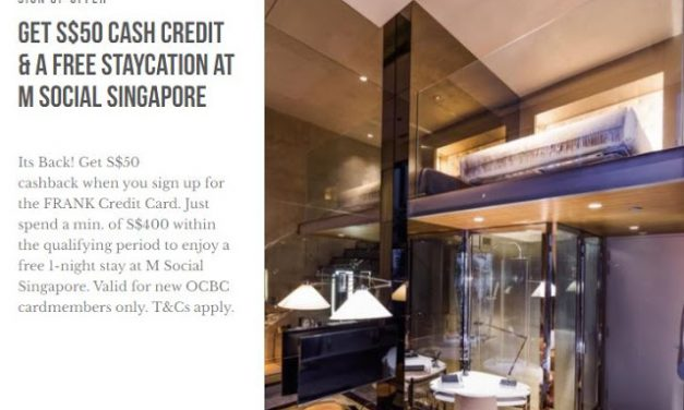 PSA – Free staycation for $400 spend plus $50 credit?!