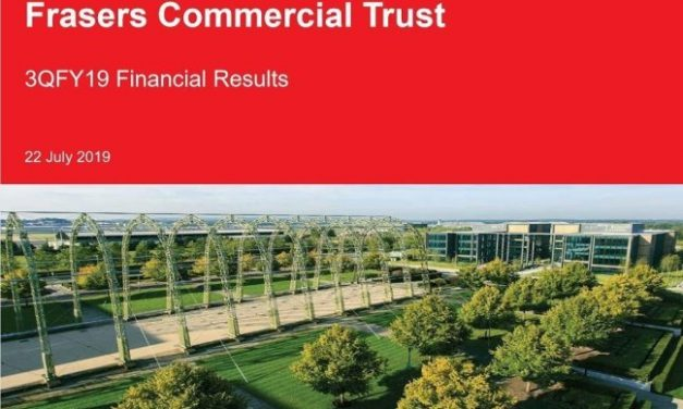 Frasers Commercial Trust Maintain DPU of 2.40 Cents