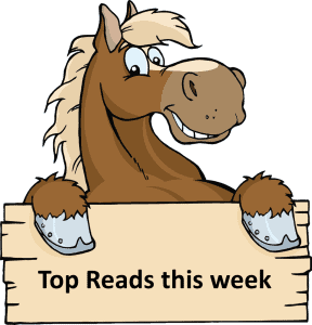 Giveaway + Top Reads this Week (25 August)