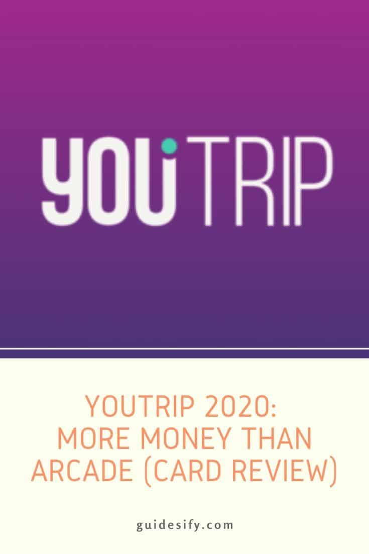 YouTrip Promo Code 2020 $5: More Money Than Arcade (Card Review)