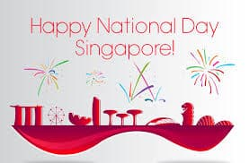 Happy 54th National Day 2019 !!