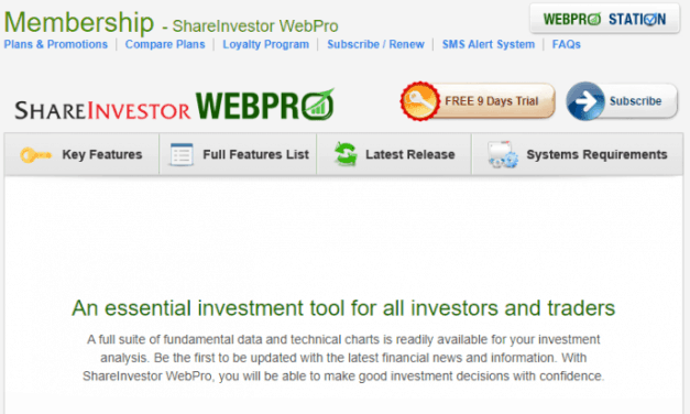 ShareInvestor WebPro Review and Coupon Code – Poor man's Bloomberg?