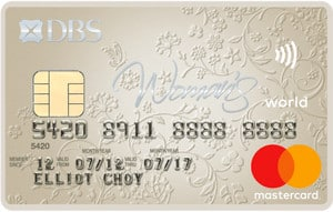 WhatCard of the Week (WCOTW) 20 Sept: DBS Woman's World MasterCard
