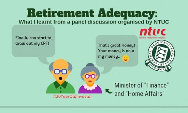 Invited by NTUC to a Retirement Adequacy/CPF Group Discussion