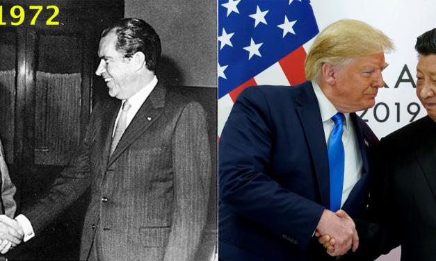 1972 vs 2019: China & US leaders