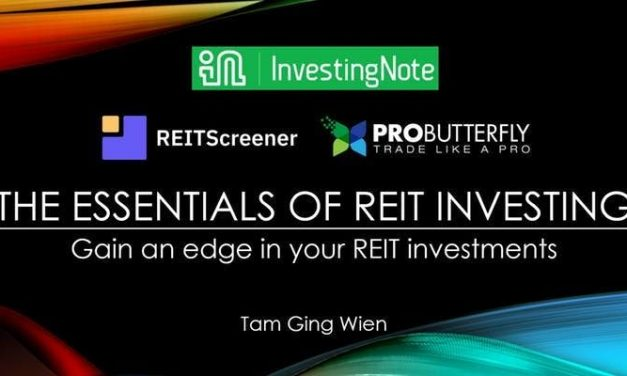 [UPCOMING WORKSHOP] The Essentials of REIT Investing