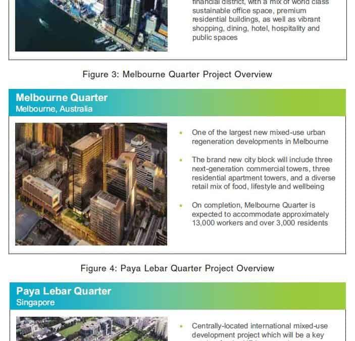 Lendlease Global Commercial REIT IPO – The next Mapletree Commercial Trust?