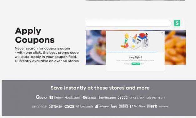 ShopBack Button Now Automatically Applies Coupon Codes