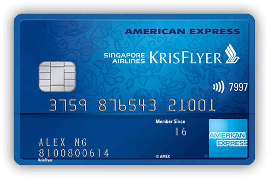 WhatCard of the Week (WCOTW) 4 Oct: Amex Krisflyer Credit Card
