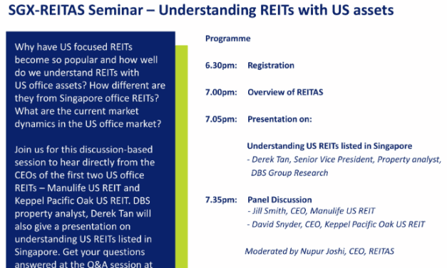 REITAS Talk – Understanding REITs with US Assets