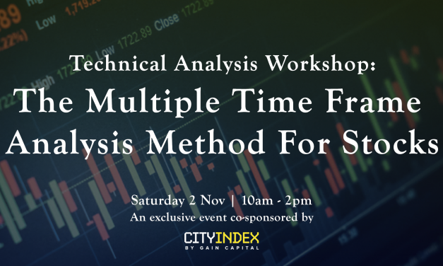 Upcoming Workshop: Applying The Multiple Time Frame Analysis To Stocks