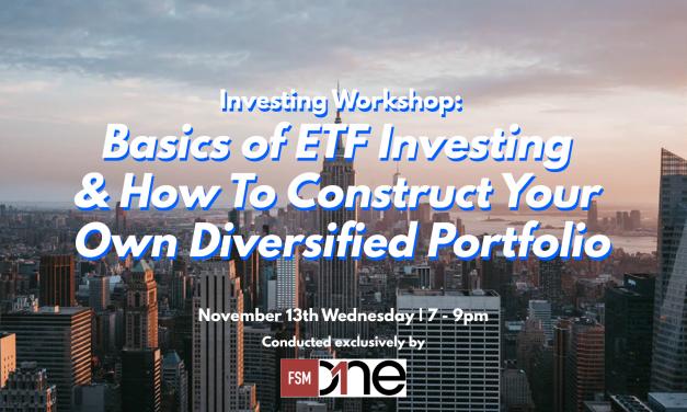 Investing Workshop: Basics of ETF Investing & Constructing an ETF Portfolio