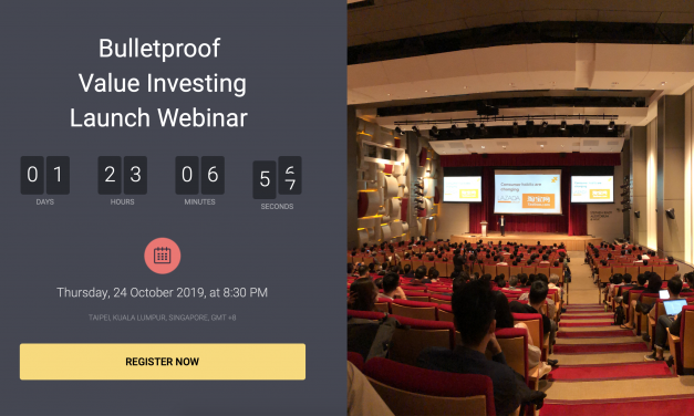 [Live Training this Thursday] – The 7 Rules of Successful Investing & Bulletproof Value Investing