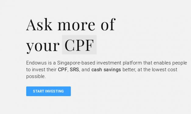 Investing my CPF OA with Endowus
