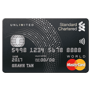 WhatCard of the Week (WCOTW) 15 Nov: StanChart Unlimited Card