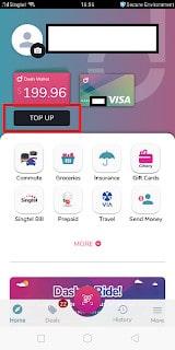 Utilising Grabpay Fully to earn Miles/rebates (Grabpay- Dash – Online Purchase)