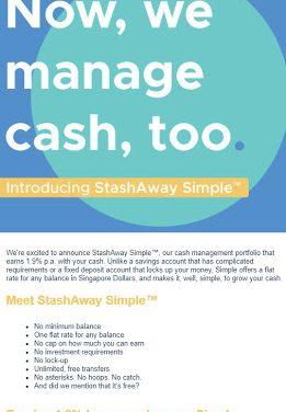 StashAway Simple™ – Cash Management Portfolio
