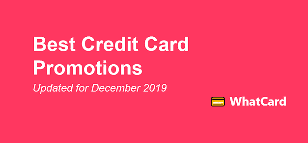 WhatCard's list of best credit card sign up promotions