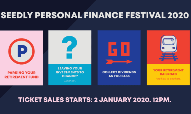 Seedly Personal Finance Festival 2020 + 50%-off Tickets