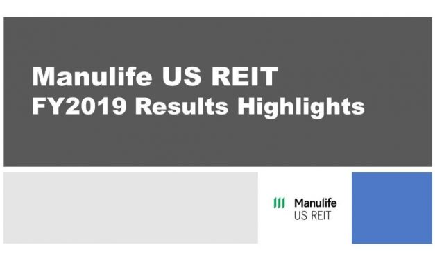 Manulife US REIT FY2019 Results Highlights