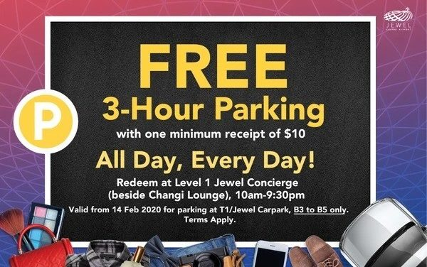 Free Parking in Shopping Malls (Feb and Mar 2020!)